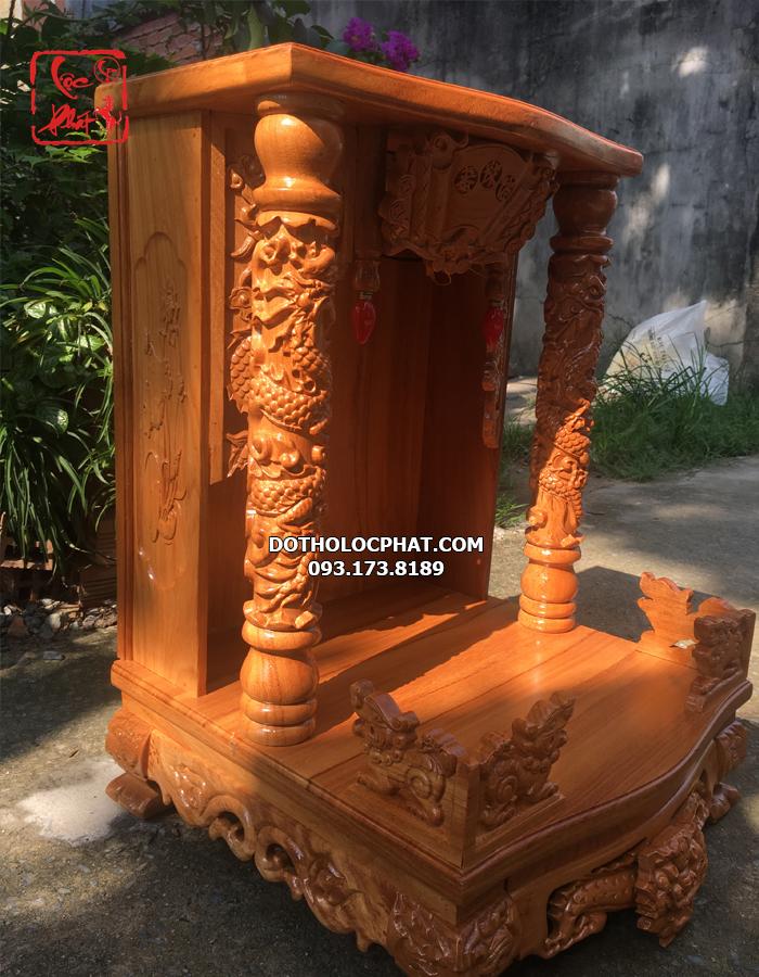 bàn thờ thần tài thổ địa cột rồng nhỏ đẹp nhất hcm