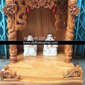 bàn thờ ông địa thần tài tai rồng gỗ gõ siêu rẻ
