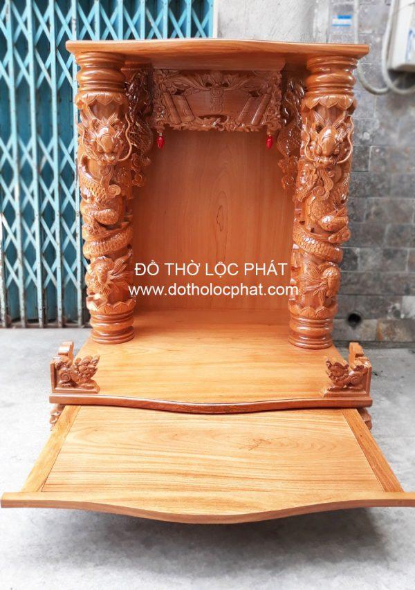 mẫu bàn thờ ông địa thần tài đẹp nhất TPHCM và toàn quốc BTGG-013 với ngăn kéo lớn