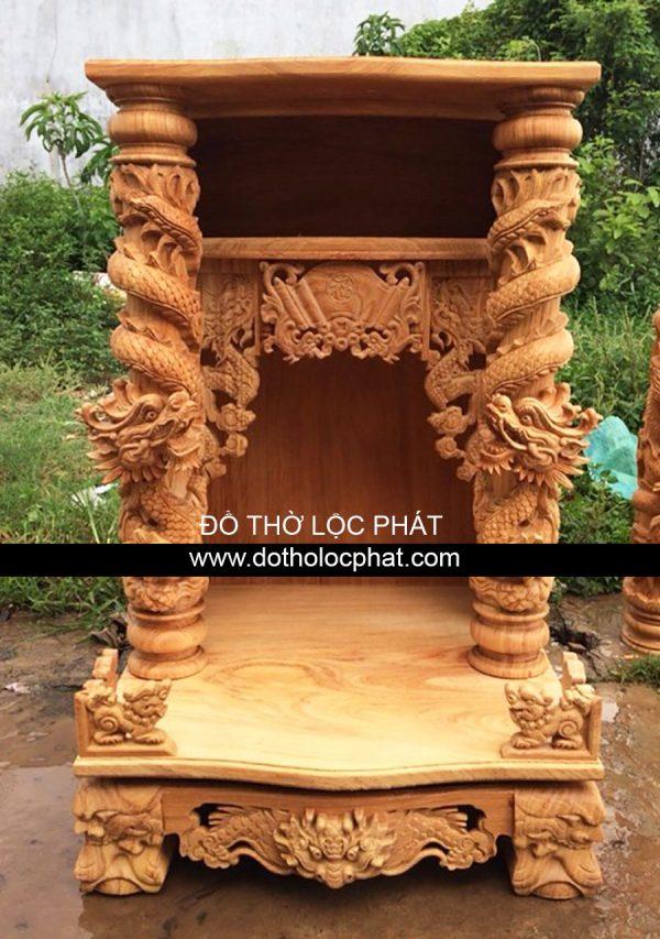 xưởng bàn thờ ông địa thần tài gỗ tự nhiên cao cấp từ gỗ gõ đỏ, hương, cẩm lai, tràm, căm xe, xoan đào