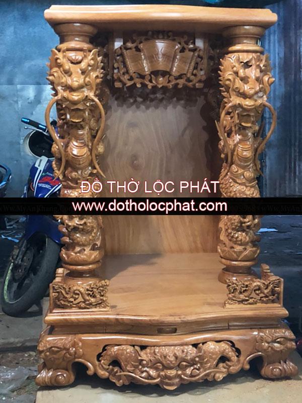 mẫu bàn thờ ông địa thần tài đẹp - khủng nhất tại TP.HCM. Mua bàn thờ đẹp ở đâu