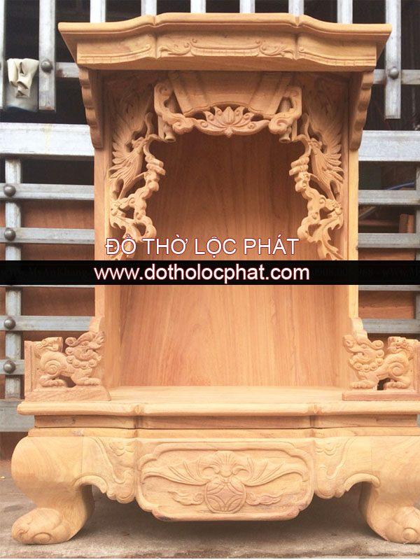 mẫu bàn thờ ông địa thần tài đẹp khách tự đặt tại xưởng Lộc p