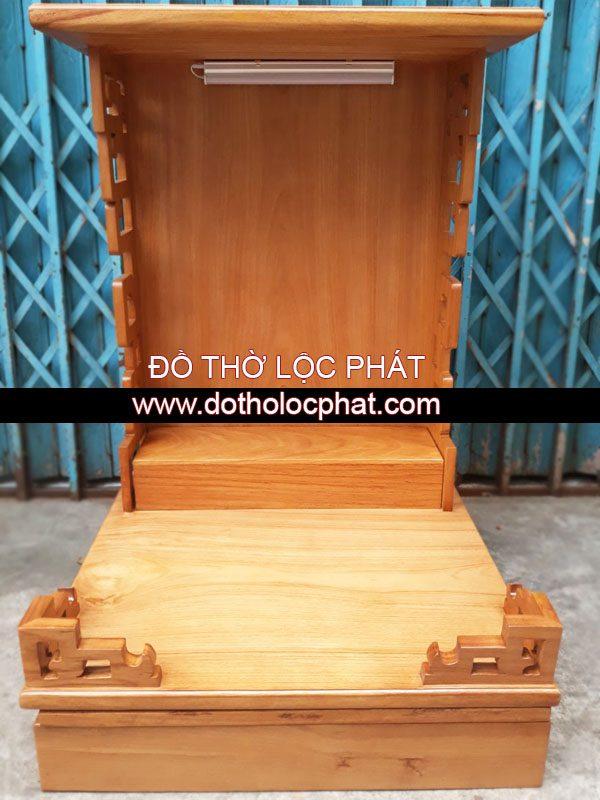 bàn thờ ông địa thần tài phong cách hiện đại đơn giản cho căn hộ chung cư – mã BTGG-031