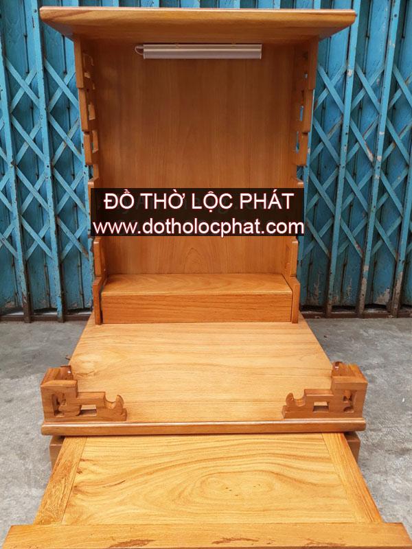mẫu bàn thờ ông địa thần tài đẹp hiện đại cho căn hộ chung cư - chuyên đóng bàn thờ tại TP.HCM
