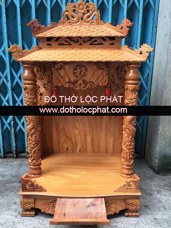 chuyên cung cấp các mẫu bàn thờ thần tài ông địa mái ngói, mái chùa siêu đẹp