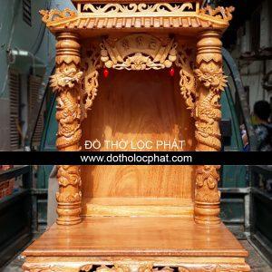 chuyên cung cấp bàn thờ ông địa thần tài mái chùa đẹp ngang 81 x81 cao 147 cm