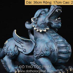 tỳ hưu đồng màu xanh nhiều kích thước nặng từ 2kg