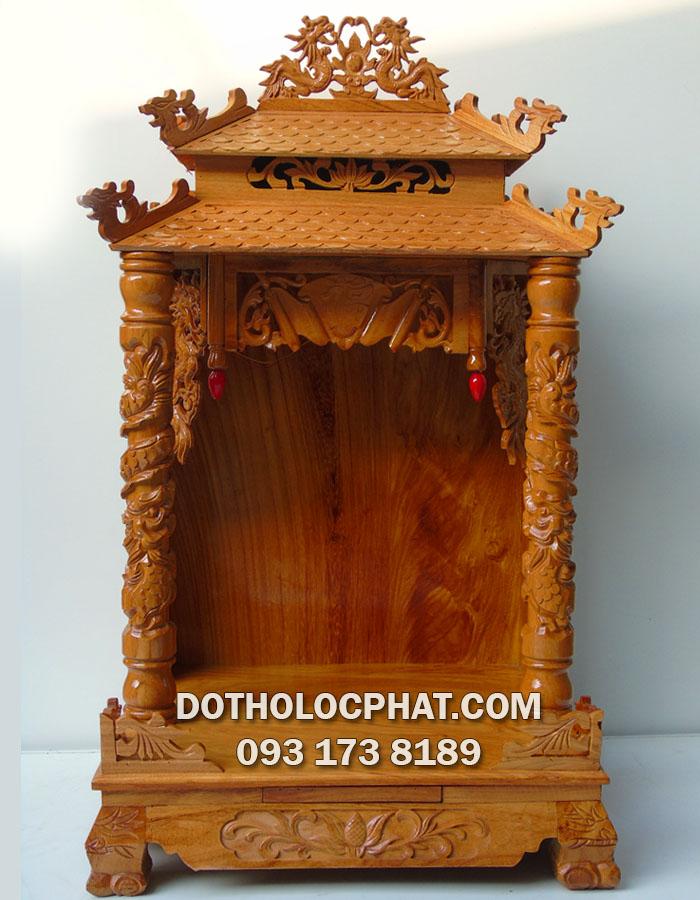 mẫu bàn thờ ông địa mái ngói 2 tầng giá rẻ nhất hiện nay