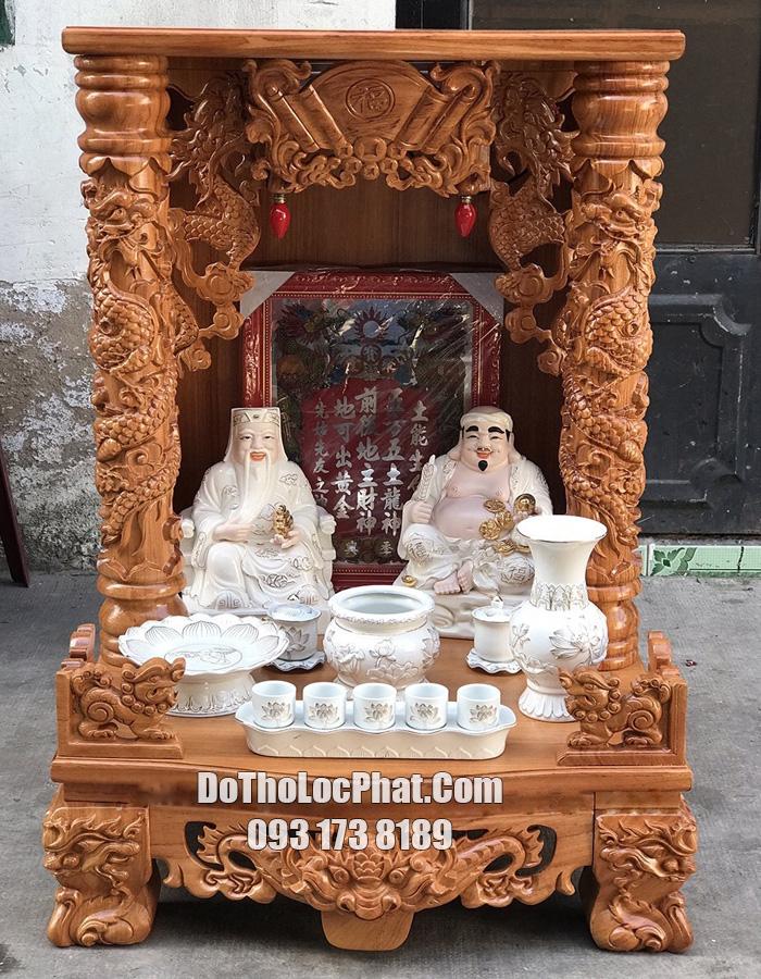 trọn bộ bàn thờ thần tài cao cấp giá rẻ