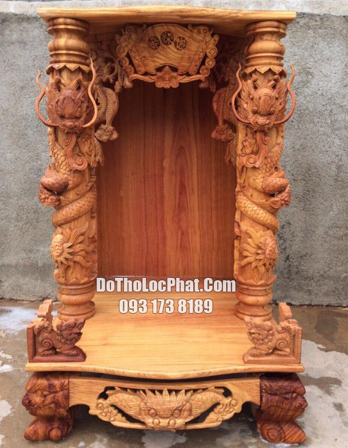lên mộc mẫu bàn thờ ông địa thần tài cột 16 đpẹ nhất hcm