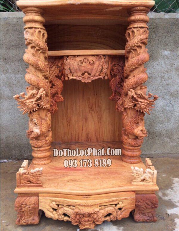 siêu khủng bàn thờ thần tài thổ địa tại hà nội gỗ siêu già