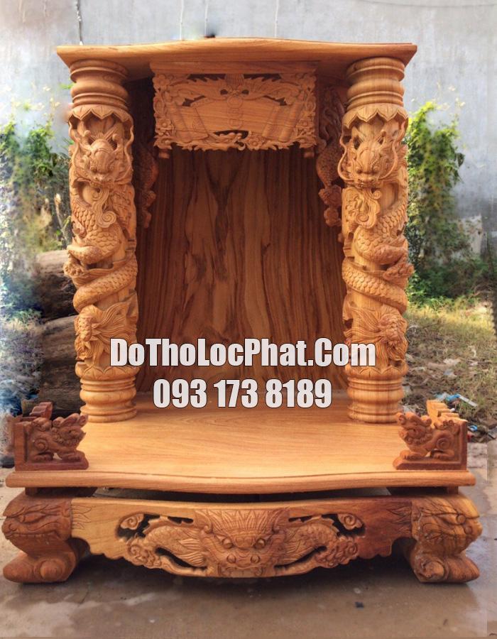 lên mới mẫu bàn thờ ông địa thần tài cột 16 đpẹ nhất hcm