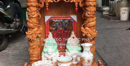 mẫu bàn thờ ông địa thần tài đẹp giá bao nhiêu ? mua ở đâu ? bao nhiêu tiền