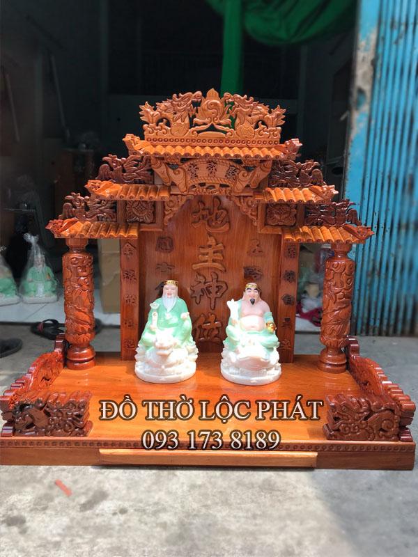 bàn thờ thần tài mái ngói đẹp giá tốt nhất - vip nhất
