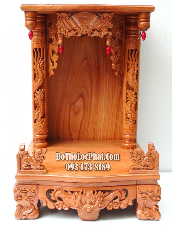 bàn thờ thần tài đẹp cho căn hộ chung cư