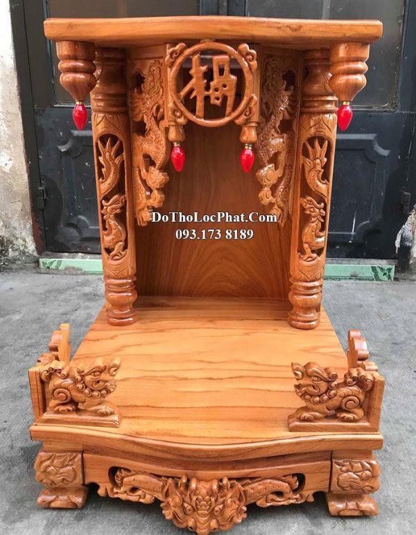 mẫu bàn thờ thần tài đẹp cho căn nhà nhỏ
