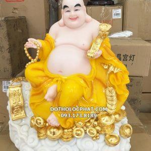 mẫu tượng di lặc màu vàng đẹp nhất