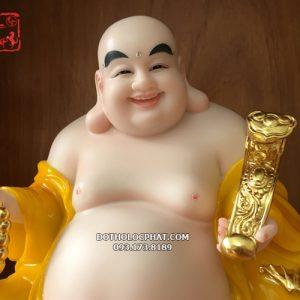 mẫu tượng phật di lặc màu vàng đẹp nhất