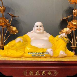 tượng phật di lặc vàng hổ phách đẹp nhất hcm