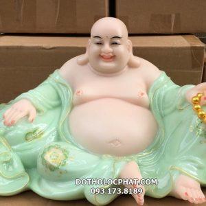 mẫu tượng phật di lặc màu xanh ngọc đẹp nhất