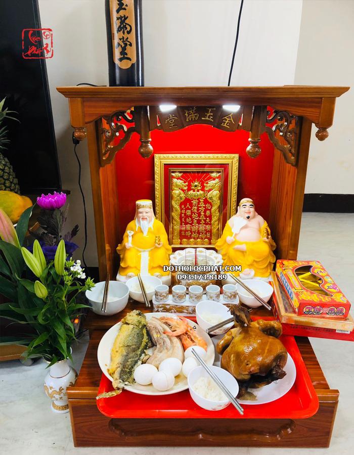 review khách mua tượng ông địa thần tài bằng đá tại Lộc Phát