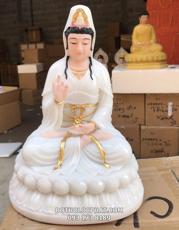 mẫu tượng quan âm màu trắng đẹp nhất hcm