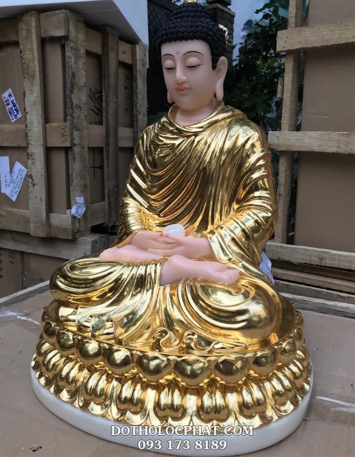 tượng phật thích ca mâu ni dát vàng