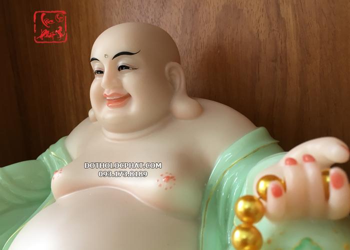 tượng Phật di lặc màu xanh ngọc đẹp ở đâu