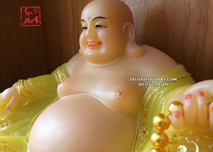 tượng phật di lặc màu vàng ngọc đẹp tại hcm