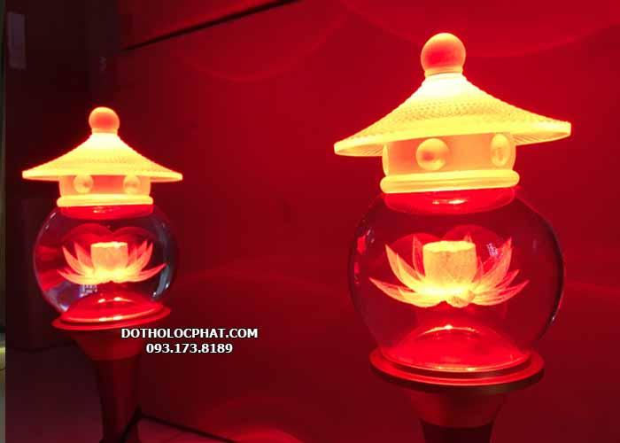 đèn thờ trang trí bàn thờ thần tài đẹp