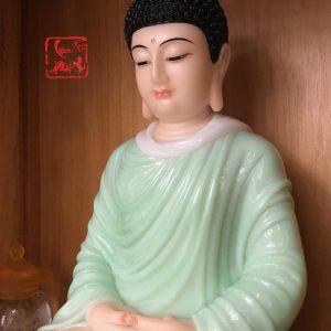 tượng bổn sư thích ca mâu ni tĩnh tâm đẹp