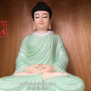 tượng phật thích ca tĩnh tâm xanh ngọc đẹp nhất hcm