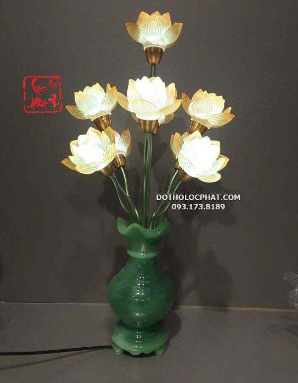 đèn thờ phật hình bình ngọc lưu ly đẹp tại hcm