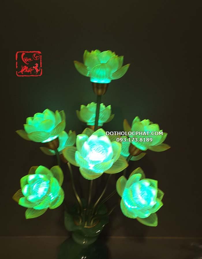 đèn bình ngọc đẹp và nhiều màu