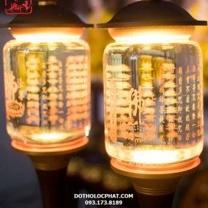 mẫu đèn thờ phật khắc bát nhã tâm kinh đẹp