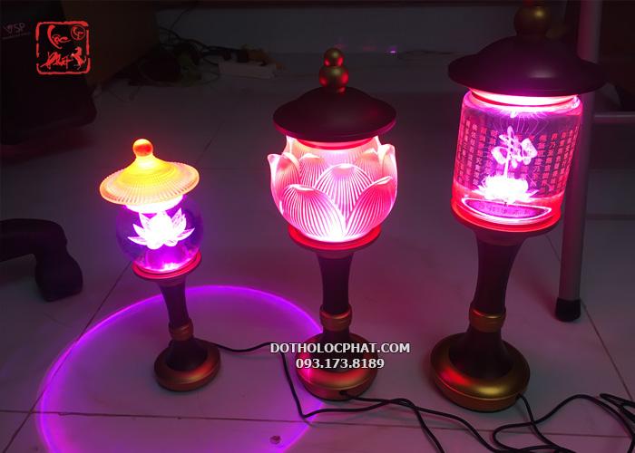 3 mẫu đèn thờ phật đẹp nhất hiện nay
