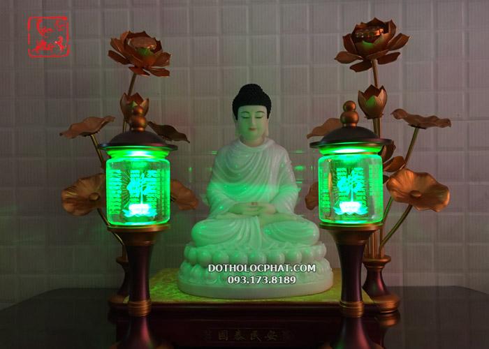 mẫu đèn tâm kinh thờ phật đẹp