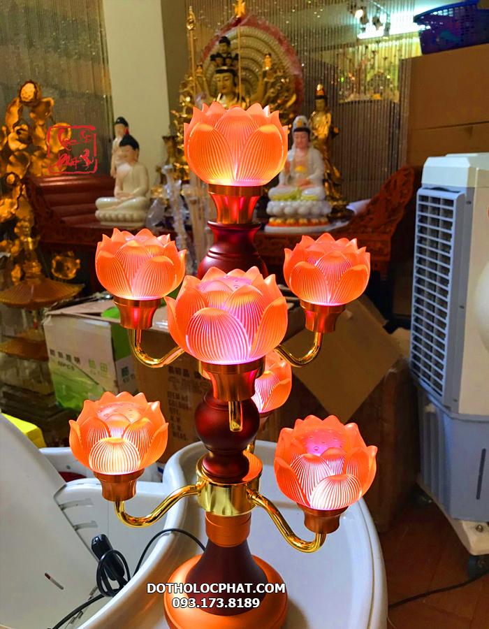 mua đèn bàn thờ phật ở đâu đẹp