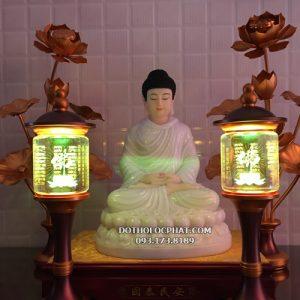 mua đèn tâm kinh thờ phật đổi màu đẹp ở đâu