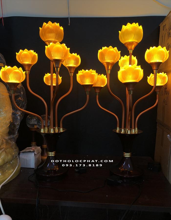 đèn thờ cúng lưu ly đẹp nhất