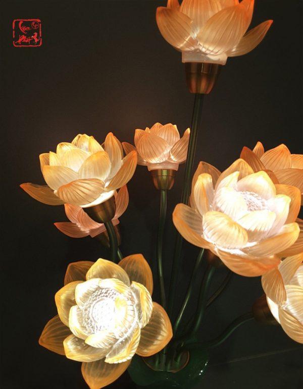 đèn trang trí bàn thờ phật đẹp nhất