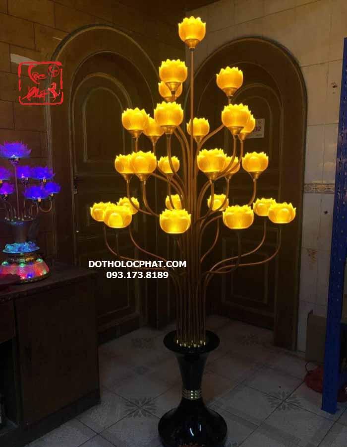 Mua Đèn thờ Phật lớn. Đèn trang trí bàn thờ Phật đẹp