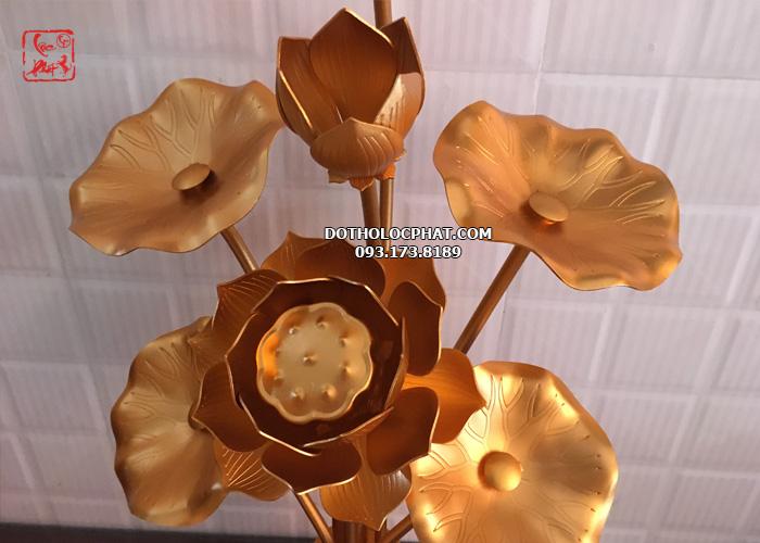 hoa sen đồng thờ Phật tại hcm