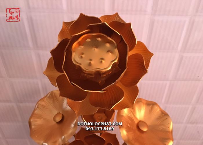 mẫu hoa sen đồng thờ Phật tại hcm