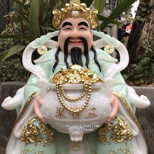 tượng thần tiền xanh ngọc đẹp nhất hcm