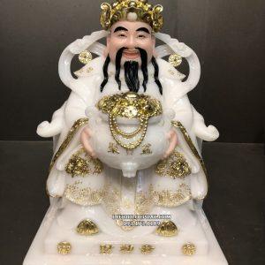 tượng thần tiền cẩm thạch trắng đẹp nhất