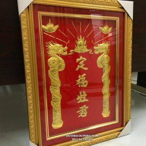 bài vị ông táo khung vàng rồng vàng đẹp nhất hcm