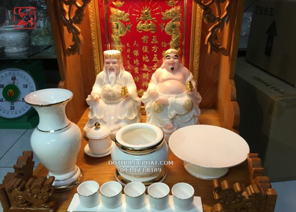 bộ sứ trắng thờ cúng đẹp nhất hcm