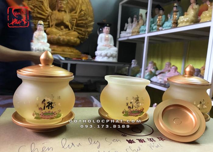 chóe nước lưu ly chữ Phật đẹp nhất