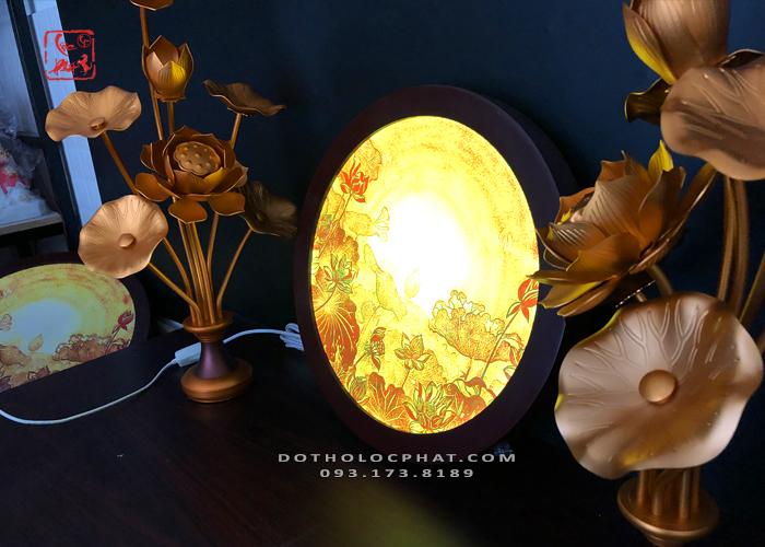 đèn hào quang phật đẹp